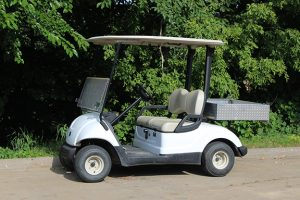 Rental Golf Car with 3x3 Utility Box