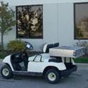 Golf Car with 3x3 Utility Box