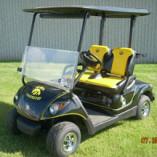Iowa Hawkeye Custom Golf Cars by Harris Golf