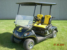Iowa Hawkeye Custom Golf Cars by Harris Golf