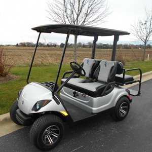 used chicago white sox golf car-Iowa, Illinois, Wisconsin, Nebraska-Harris Golf Cars