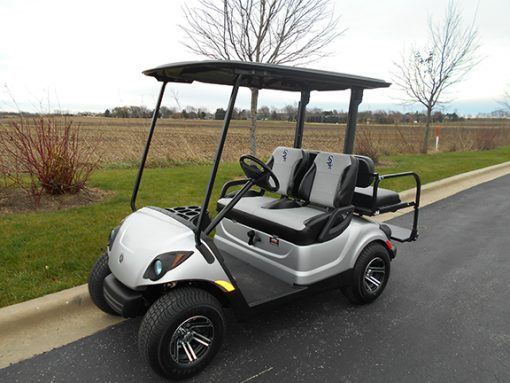 used chicago white sox golf car-Iowa, Illinois, Wisconsin, Nebraska-Harris Golf Cars