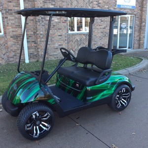 New Yamaha Custom Golf Cart-Iowa, Illinois, Wisconsin, Nebraska-Harris Golf Cars