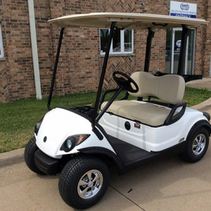 New white golf cat-Iowa, Illinois, Wisconsin, Nebraska-Harris Golf Cars