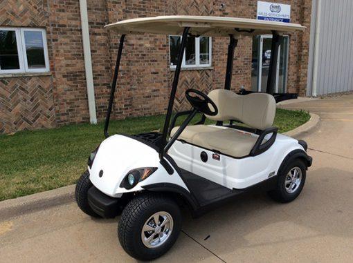 New white golf cat-Iowa, Illinois, Wisconsin, Nebraska-Harris Golf Cars