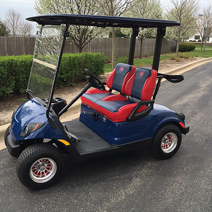 chicago cubs golf car-Harris Golf Cars-Iowa, Illinois, Wisconsin, Nebraska