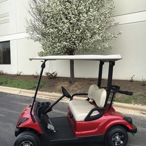 2007 jasper red golf cart-Harris Golf Cars-Iowa, Illinois, Wisconsin, Nebraska