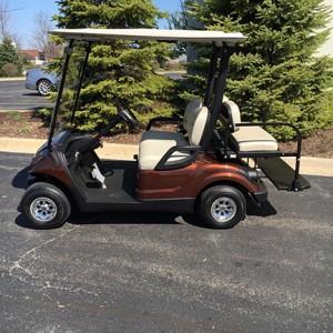 2007 rootbeer golf cart-Harris Golf Cars-Iowa, Illinois, Wisconsin, Nebraska