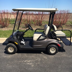 topaz gas golf cart-Harris Golf Cars-Iowa, Illinois, Wisconsin, Nebraska