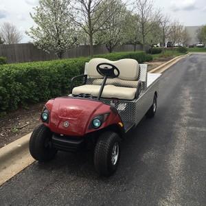 2008 Utility Flatbed Golf Cart-Harris Golf Cars-Iowa, Illinois, Wisconsin