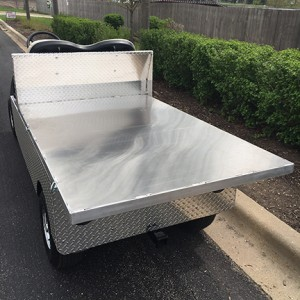 2008 Utility Flatbed Golf Cart-Harris Golf Cars-Iowa, Illinois, Wisconsin