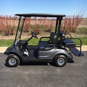 2001 electric 4 passenger golf cart-Harris Golf Cars-Iowa, Illinois, Wisconsin, Nebraska