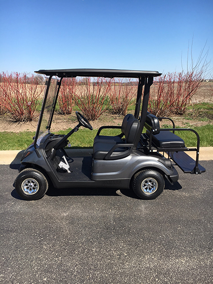 2001 electric 4 passenger golf cart-Harris Golf Cars-Iowa, Illinois, Wisconsin, Nebraska