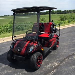 2011 yamaha 48v blackhawks golf car