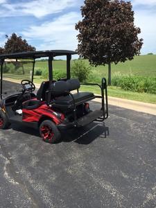 chicago blackhawks golf cart-harris golf cars-Iowa, Illinois, Wisconsin, Nebraska