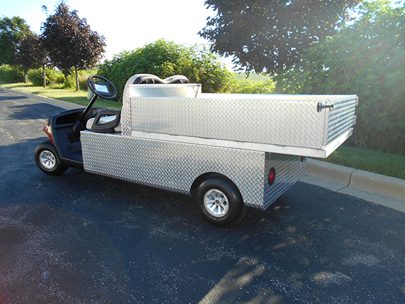 extended bed Yamaha Electric Hauler