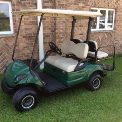 emerald green 4-passenger golf cart-harris golf cars-Iowa, Illinois, Wisconsin, Nebraska