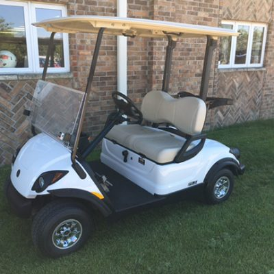 glacier EFI PTV gas golf car-Harris Golf Cars-Iowa, Illinois, Wisconsin, Nebraska