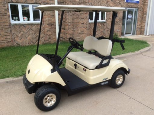 2018 Yamaha Drive 2 Sunstone Golf Car With Quietech Efi