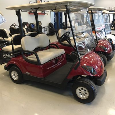 garnet EFI fleet golf car-Harris Golf Cars-Iowa, Illinois, Wisconsin, Nebraska