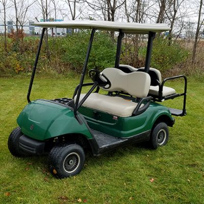 2008 Used Hunter Green Golf Car-Harris Golf Cars-Iowa, Illinois, Wisconsin, Nebraska