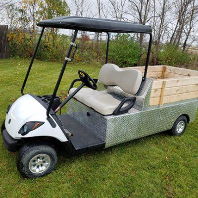 electric glacier utility car-Harris Golf Cars-Iowa, Illinois, Wisconsin, Nebraska