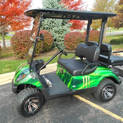 Green Monster Golf Car-Harris Golf Cars-Iowa, Illinois, Wisconsin, Nebraska