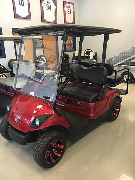 2007 Jasper Red 4-Passenger-Harris Golf Cars-Iowa, Illinois, Wisconsin, Nebraska