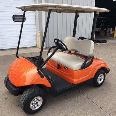 Orange Golf Car-Harris Golf Cars-Iowa, Illinois, Wisconsin, Nebraska