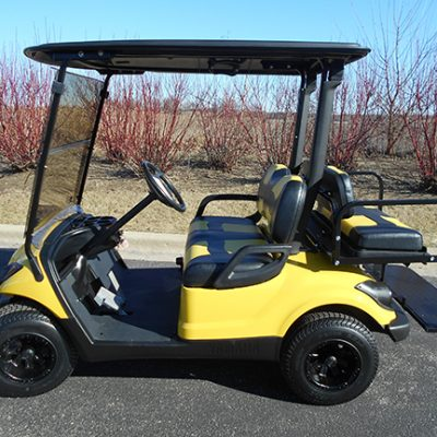 Citrine Yellow Drive-Harris Golf Cars-Iowa, Illinois, Wisconsin, Nebraska