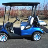 Custom Blue Drive-Harris Golf Cars-Iowa, Illinois, Wisconsin, Nebraska