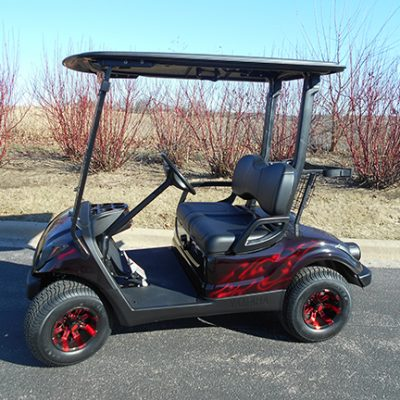 Flame Painted Drive-Harris Golf Cars-Iowa, Illinois, Wisconsin, Nebraska
