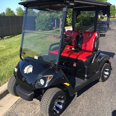Blackhawks Golf Car-Harris Golf Cars-Iowa, Illinois, Wisconsin, Nebraska