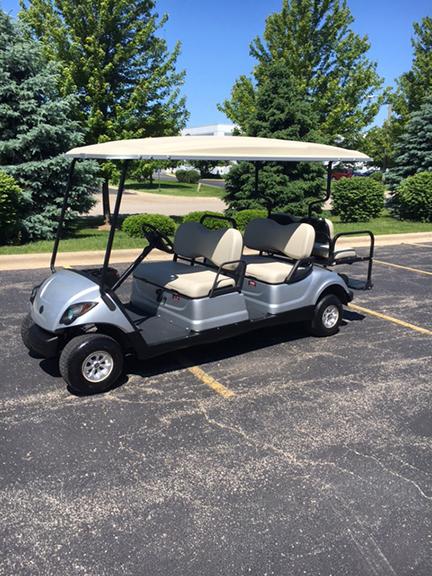 2011 6-Passenger Moonstone Golf Car-Harris Golf Cars-Iowa, Illinois, Wisconsin, Nebraska