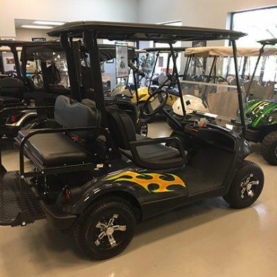 Flame Golf Car-Harris Golf Cars-Iowa, Illinois, Wisconsin, Nebraska