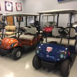 Chicago Bears Golf Cars