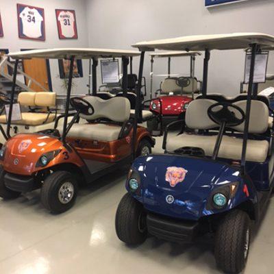 Chicago Bears Golf Cars