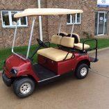 1998 Candy Apple Red-Harris Golf Cars-Iowa, Illinois, Wisconsin, Nebraska