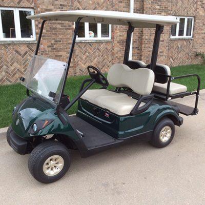 2007 Hunter Green Golf Car-Harris Golf Cars-Iowa, Illinois, Wisconsin, Nebrasksa