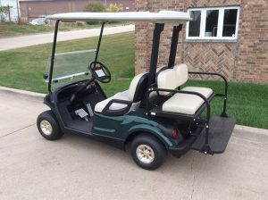 2007 Hunter Green Golf Car-Harris Golf Cars-Iowa, Illinois, Wisconsin, Nebrasksa