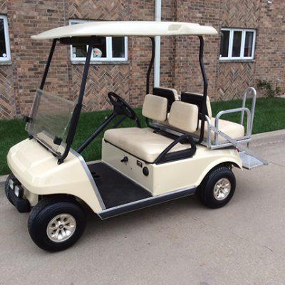 Club Car DS Beige-Harris Golf Cars-Iowa, Illinois, Wisconsin, Nebraska