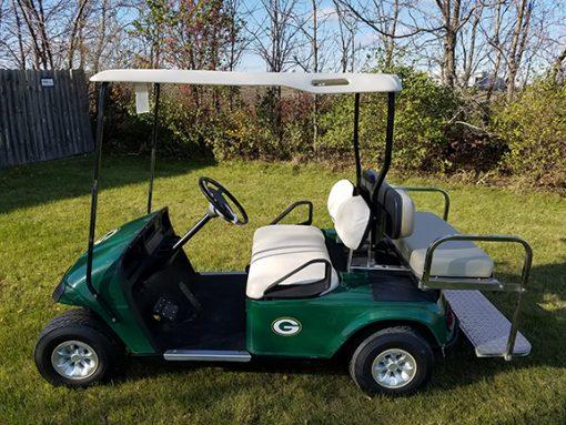 E-Z-Go Electric Packers Golf Car-Harris Golf Cars-Iowa, Illinois, Wisconsin, Nebraska