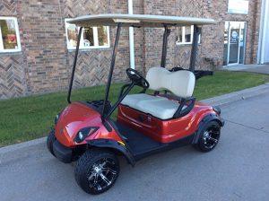 Jasper Red Golf Car-Harris Golf Cars-Iowa, Illinois, Wisconsin, Nebraska