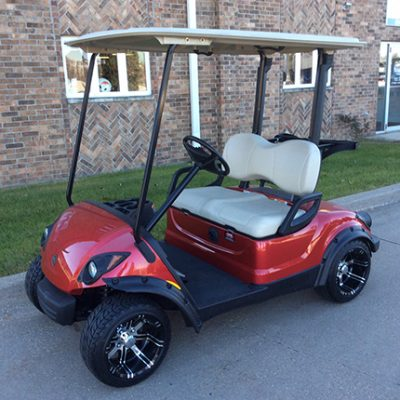 Jasper Red Golf Car-Harris Golf Cars-Iowa, Illinois, Wisconsin, Nebraska