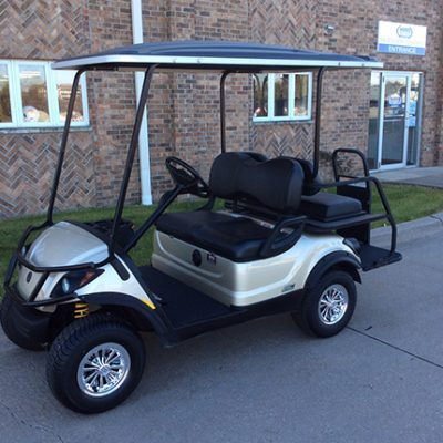 Yamaha Sport Sandstone Golf Car-Harris Golf Cars-Iowa, Illinois, Wisconsin, Nebraska