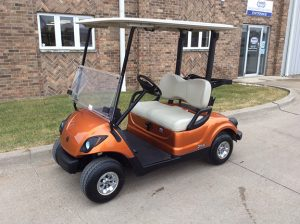 2013 Orange Golf Car-Harris Golf Cars-Iowa, Illinois, Wisconsin, Nebraska