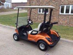 2013 Orange Golf Car-Harris Golf Cars-Iowa, Illinois, Wisconsin, Nebraska