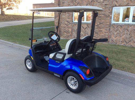 Aqua Blue Golf Car-Harris Golf Cars-Iowa, Illinois, Wisconsin, Nebraska