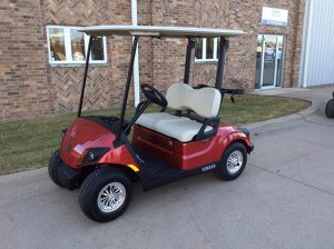 jasper red golf car-Harris Golf Cars- Iowa, Illinois, Wisconsin, Nebraska