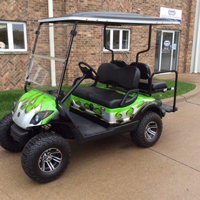 Custom Golf Car - Harris - Iowa, Wisconsin, Illinois